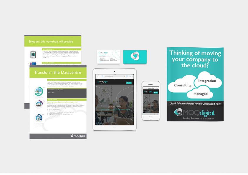 Web, app, printed communication materials design
