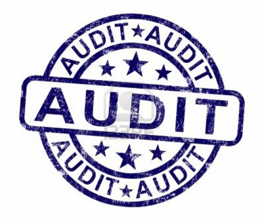 Audit Time…And It Won't Be Taxing