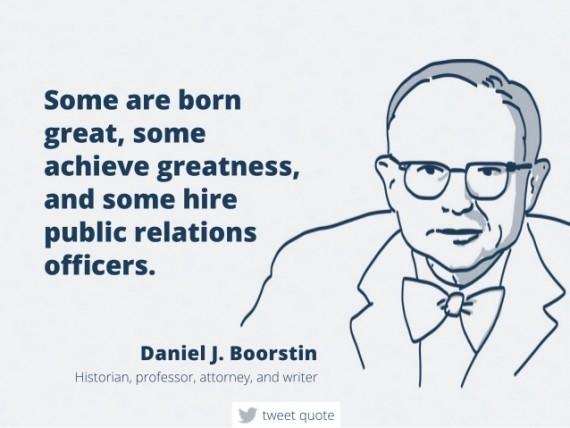 Inspiring public relations quote