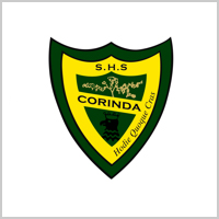Corinda State High School logo tile