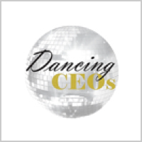 Dancing CEO's logo tile