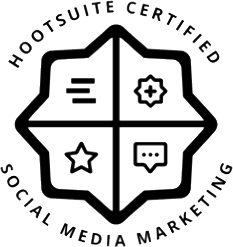 Outsource to Us Hootsuite Certification Logo