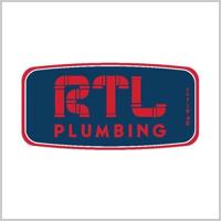 RTL Plumbing logo tile