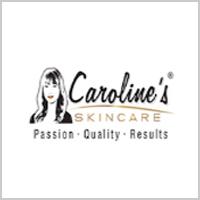 Caroline's Skincare Logo Tiles
