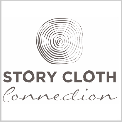 Story Cloth Logo Tile with border