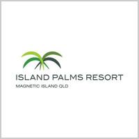 island palms logo