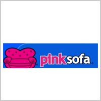pink sofa logo tile