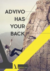 example of internal branding - poster by advivo