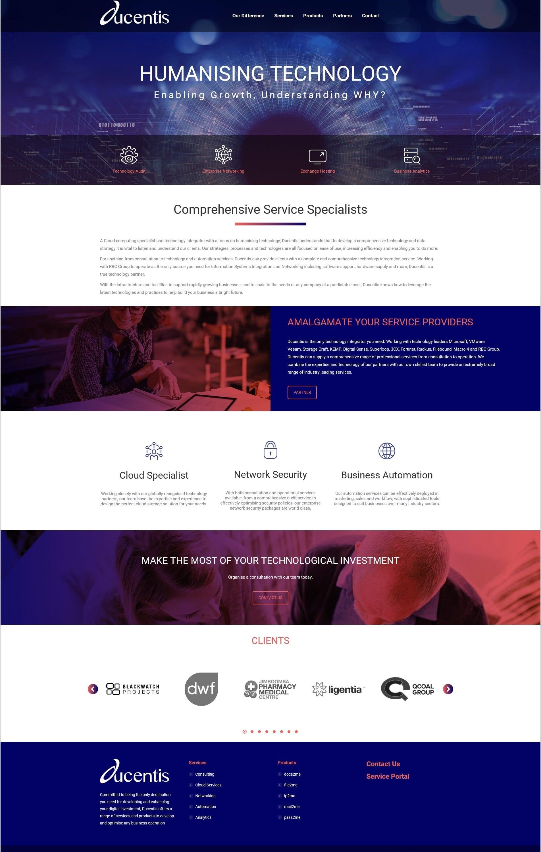 Ducentis Website - O2Us
