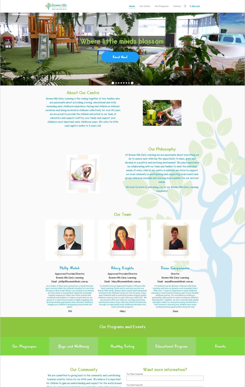 Bowen Hills Website - O2Us