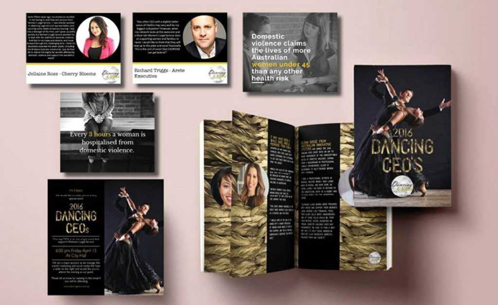 Dancing CEO's Promotional Banner - Outsource2Us