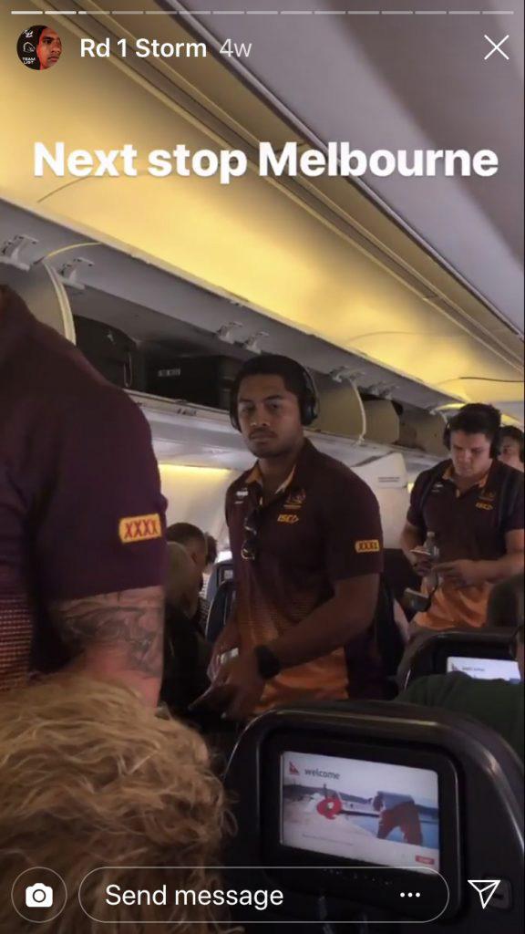Brisbane Bronco's Instagram - Broncos vs Storm NRL opener